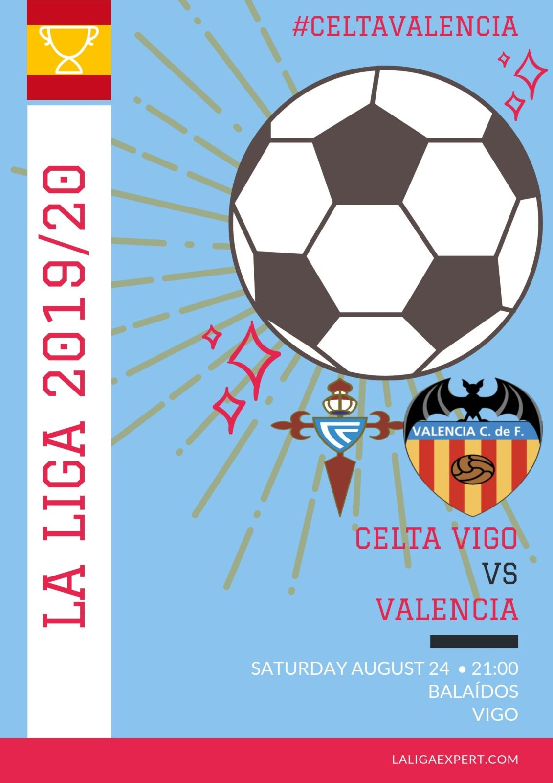 Celta Vigo vs Valencia Match Preview & Prediction - La Liga
